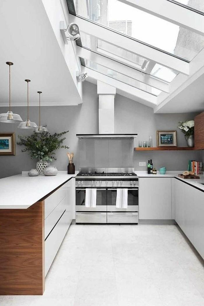 0-cuisine-grise-verriere-interieure-pas-cher-sur-le-tois-cuisine-sous-pente