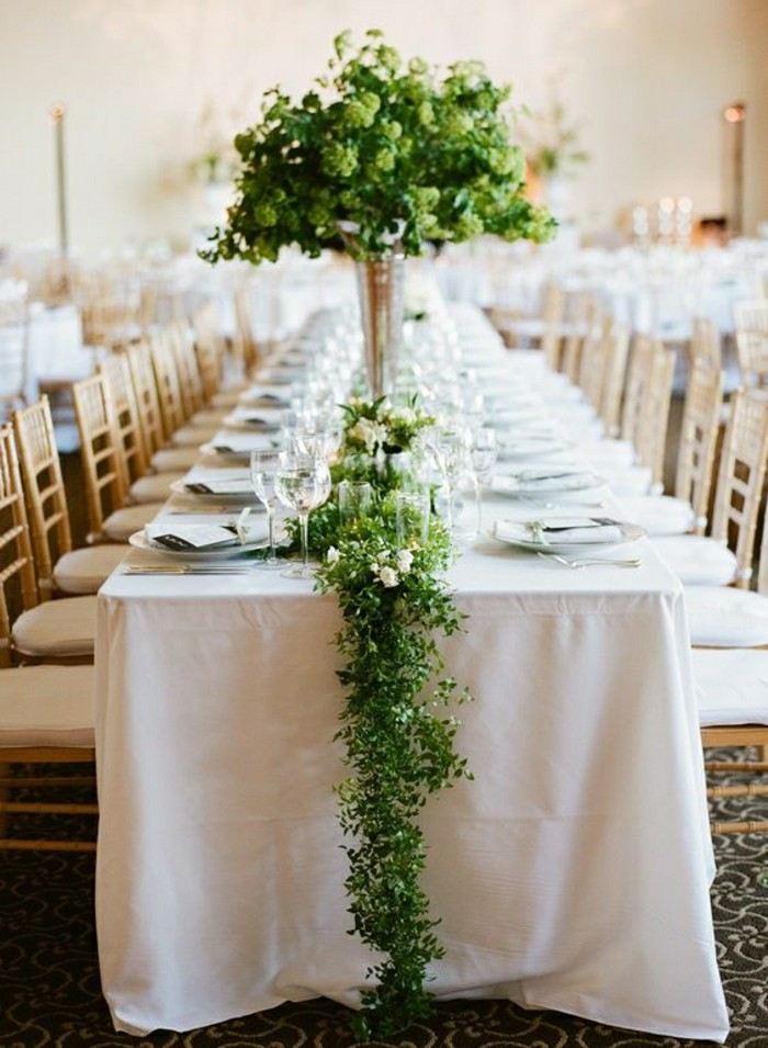 Comment d corer le centre de table mariage - Decoration table mariage nature ...
