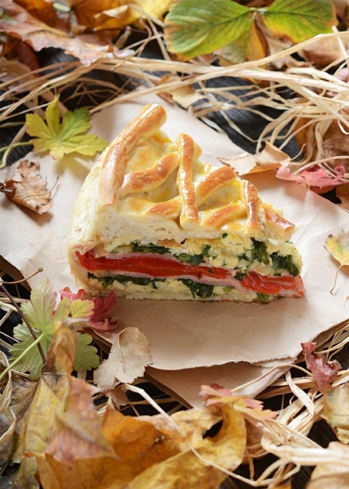 Les plus d licieuses entr es froides recettes en photos et vid os - Recette tarte salee originale ...