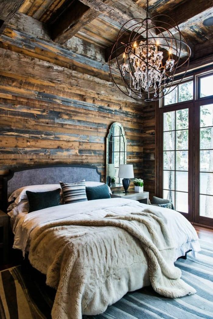 chambre adulte king size de luxe design lit deux places pas cher pour votre chambre a coucher - Chambre A Coucher Lit King Size
