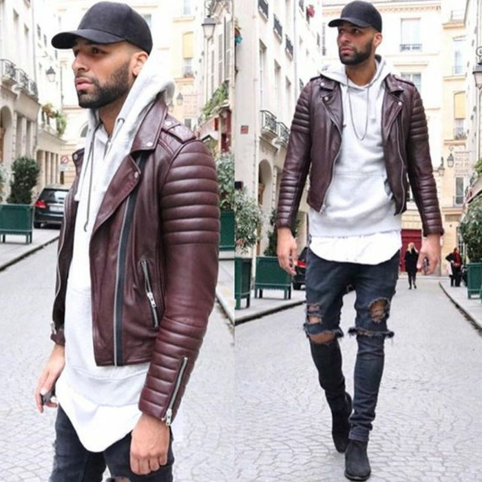 trouvez votre mod le de veste en cuir homme. Black Bedroom Furniture Sets. Home Design Ideas