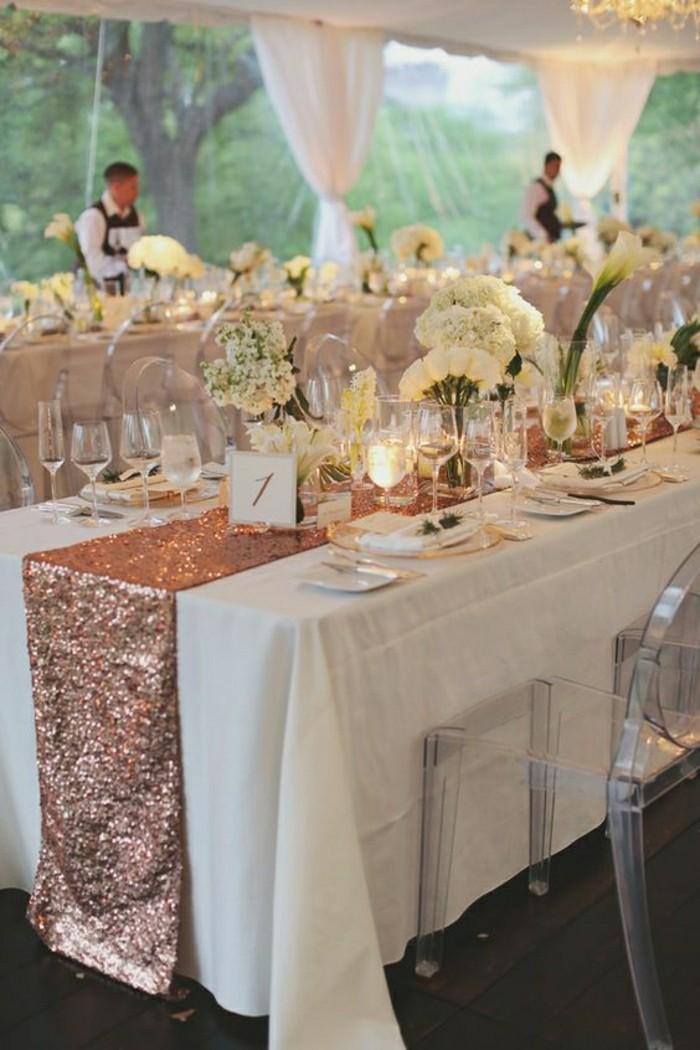 ment décorer le centre de table mariage