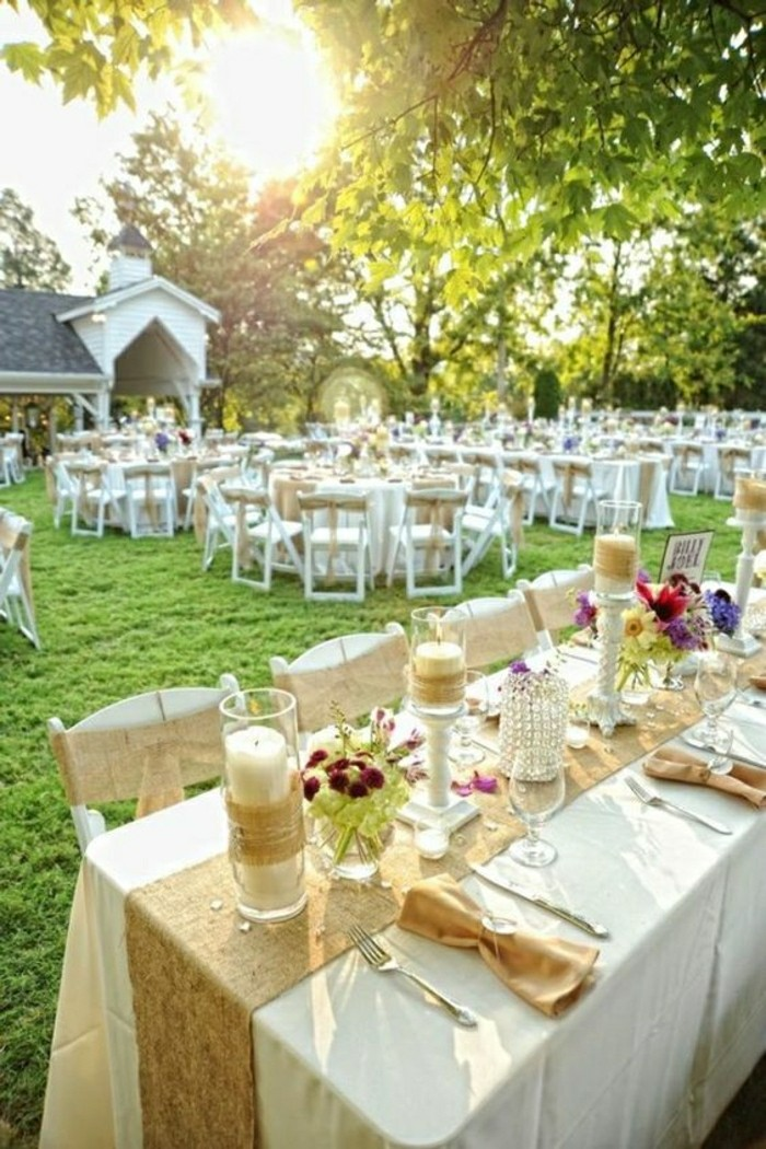 Comment d corer le centre de table mariage for Jardin 2018
