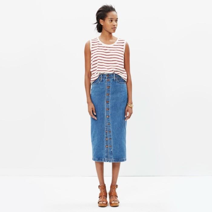 0-jupe-longue-h&m-jupe-en-jean-femme-sandales-en-cuir-marron-femme