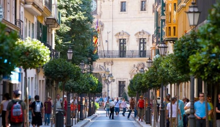 Calle-Colom-Palma-de-Majorque-les-rues-de-la-mojroque