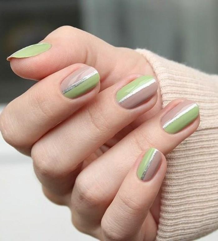 0-modele-d-ongle-en-beige-et-vert-decoration-ongle-femme-déco-ongles