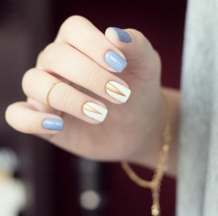 Les tendances chez la d co ongles 62 variantes en photos for Idee et deco