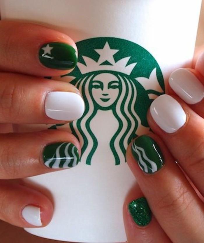 0-ongles-blanc-et-vert-decoration-ongles-femme-idee-deco-ongle-modele