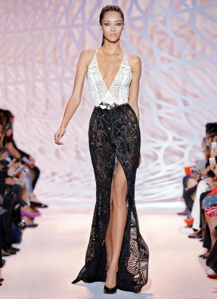 0-robe-en-dentelle-blanc-et-noir-chaussures-à-talons-hauts-noirs-robe-de-soirée-pour-mariage