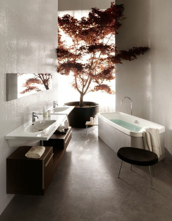 sol bambou salle de bain id es de design. Black Bedroom Furniture Sets. Home Design Ideas