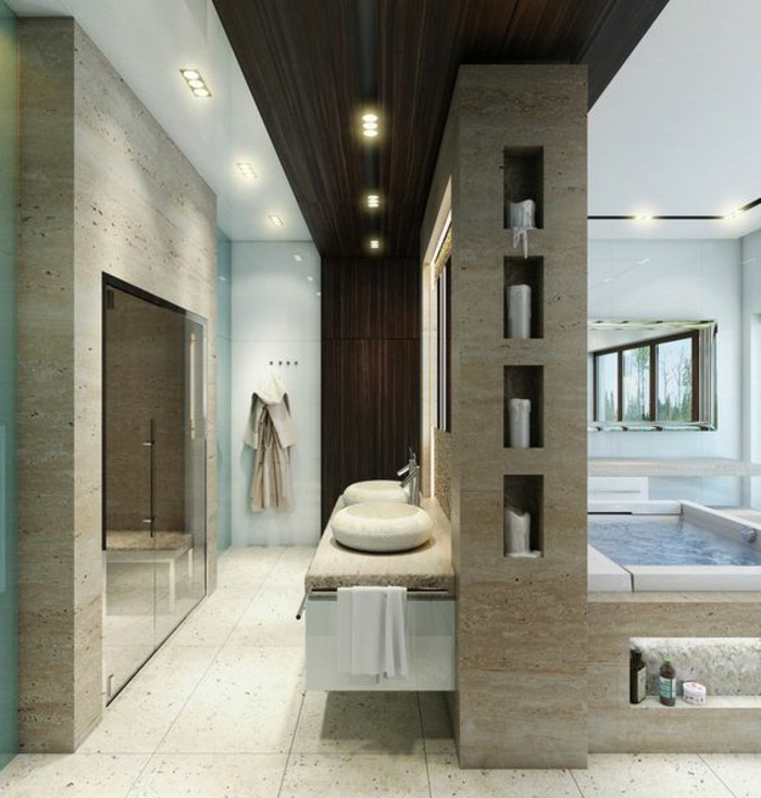 Comment Crer Une Salle De Bain Contemporaine  Photos