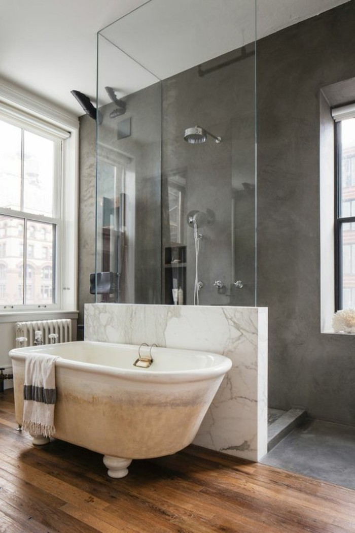 Comment cr er une salle de bain contemporaine 72 photos - Salle de bain design contemporain ...
