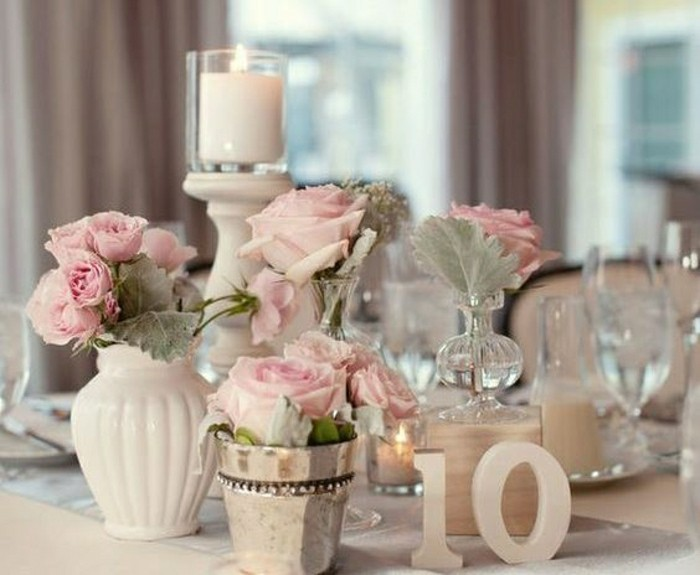 Comment d corer le centre de table mariage - Photos de decoration ...