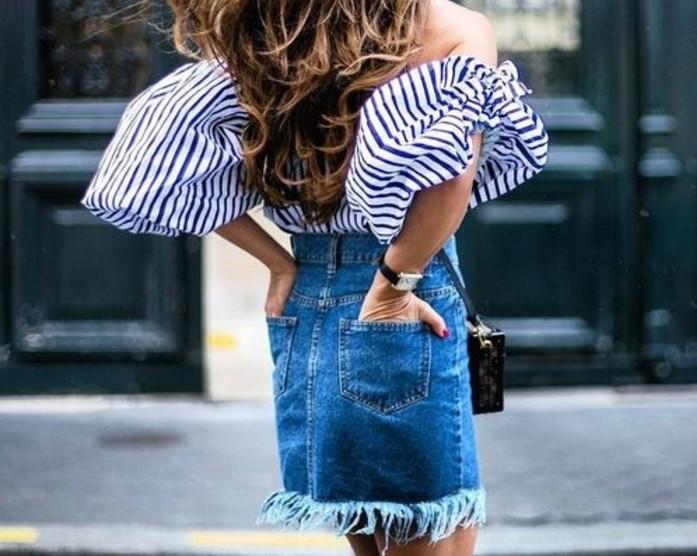 00-tendance-de-la-mode-jupe-mi-longue-en-denim-bleu-foncé-jupe-en-jean-femme
