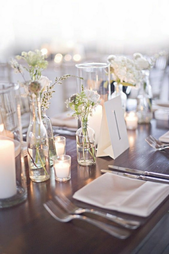 Comment d corer le centre de table mariage for Table pas cher