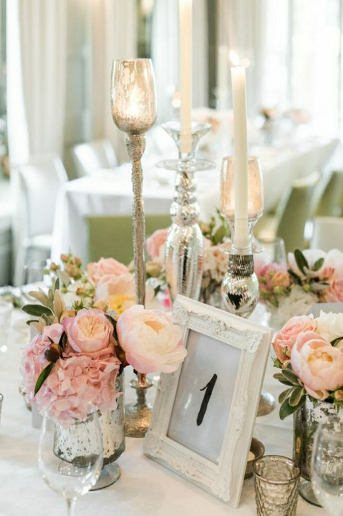Comment d corer le centre de table mariage for Small table decorations for weddings