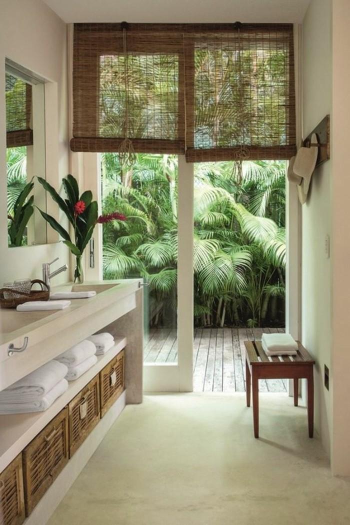 1-deco-salle-de-bain-zen-sol-beton-ciré-fleurs-d-interieur-sol-en-beton-beige