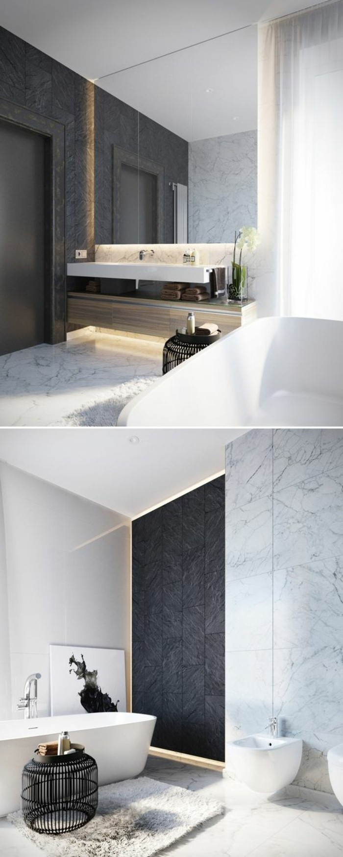 faience salle de bain couleur. Black Bedroom Furniture Sets. Home Design Ideas