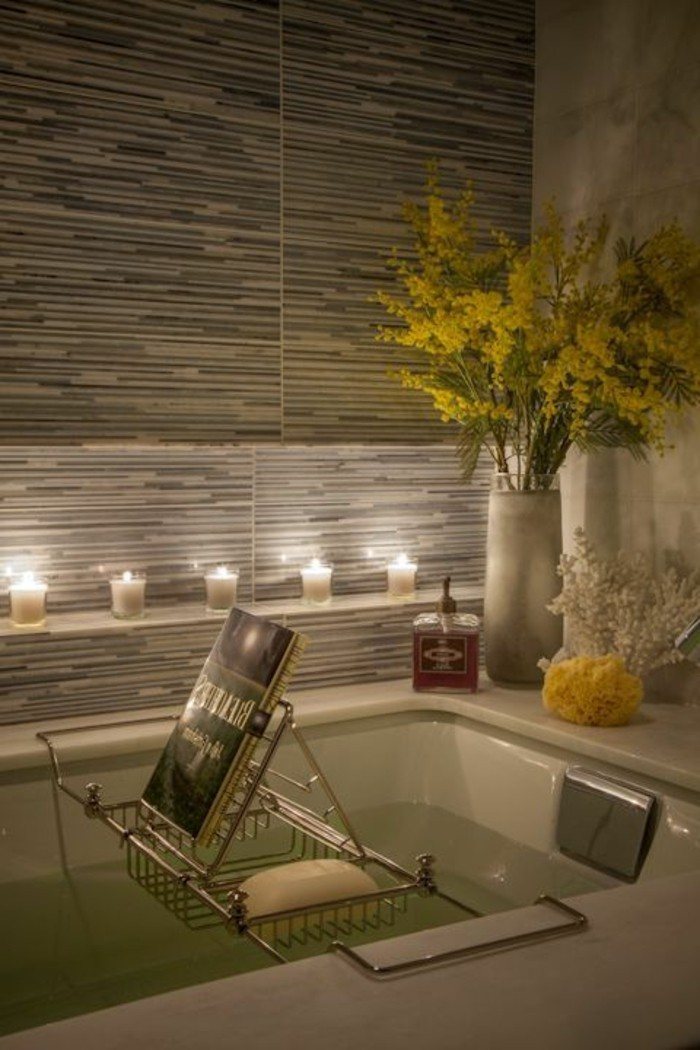 comment cr233er une salle de bain zen