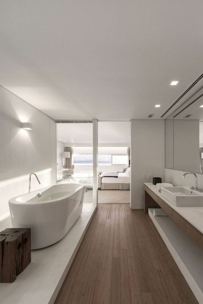 Comment cr er une salle de bain contemporaine 72 photos - Model salle de bain design ...