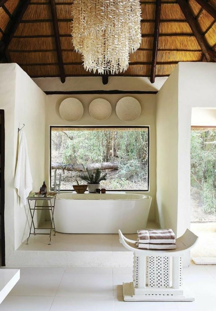 Comment cr er une salle de bain zen for Lustre salle de bain pas cher