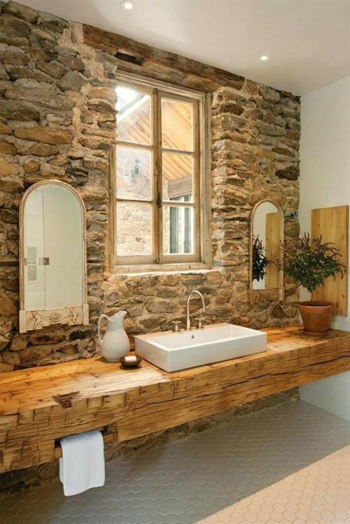 Comment cr er une salle de bain zen for Salle de bain bois et pierre
