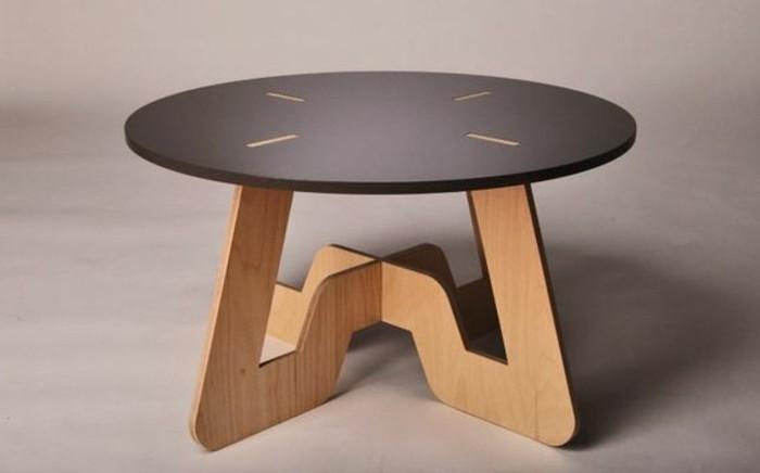 Table Basse Bois Clair Conforama
