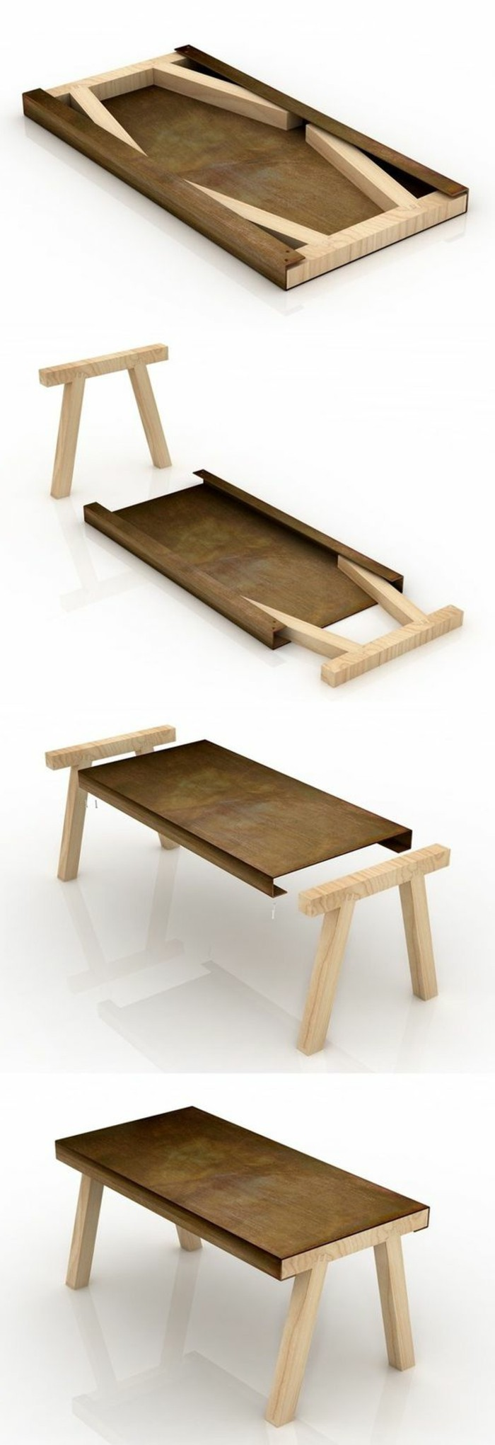 Table basse relevable petit format table pliante en bois - Table basse relevable extensible conforama ...