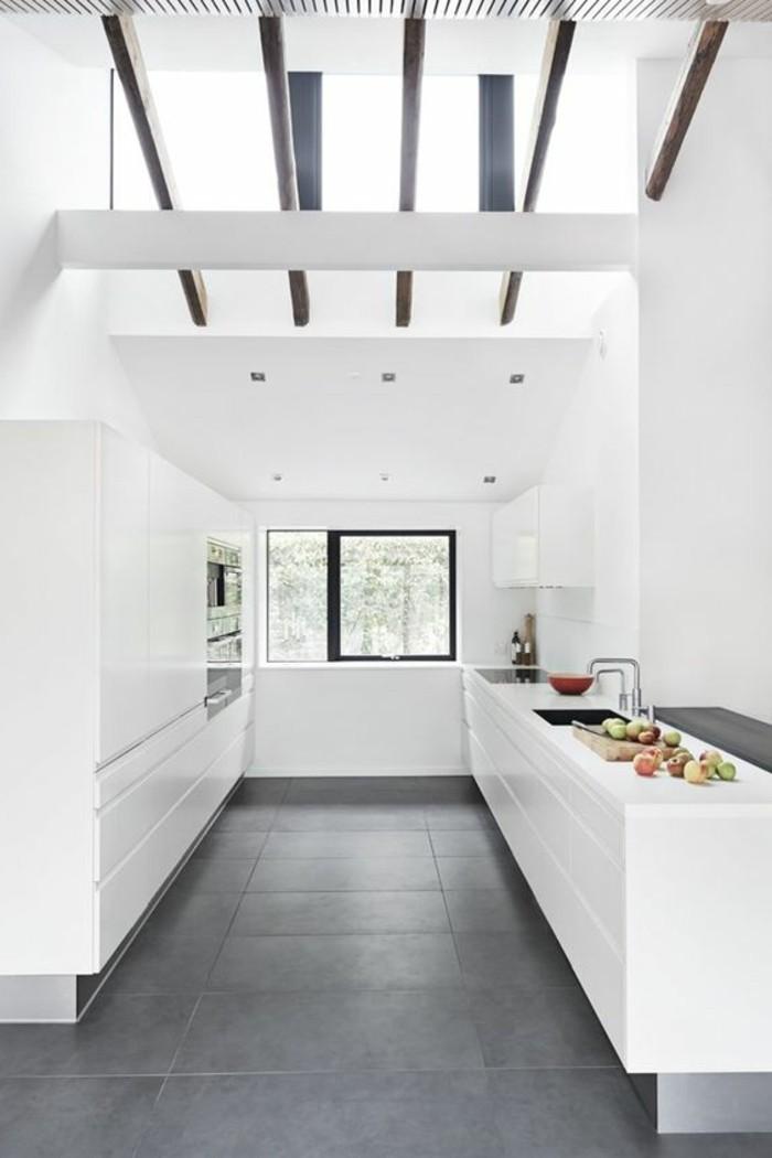 La cuisine avec verri re les conseils des sp cialistes - Verriere d interieur castorama ...