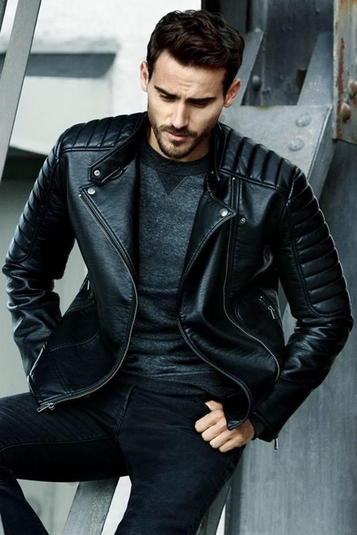 1-veste-en-cuir-homme-noir-les-dernieres-tendaces-chez-le-veste-homme-en-cuir