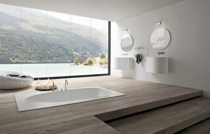 comment cr er une salle de bain contemporaine 72 photos. Black Bedroom Furniture Sets. Home Design Ideas