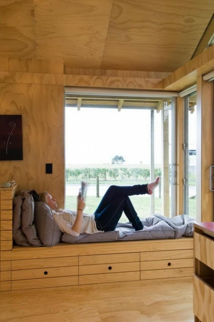 Fensterbank Holz Verkleiden ~ Trop cool idée cosy et jolie en même temps – organiser le meilleur