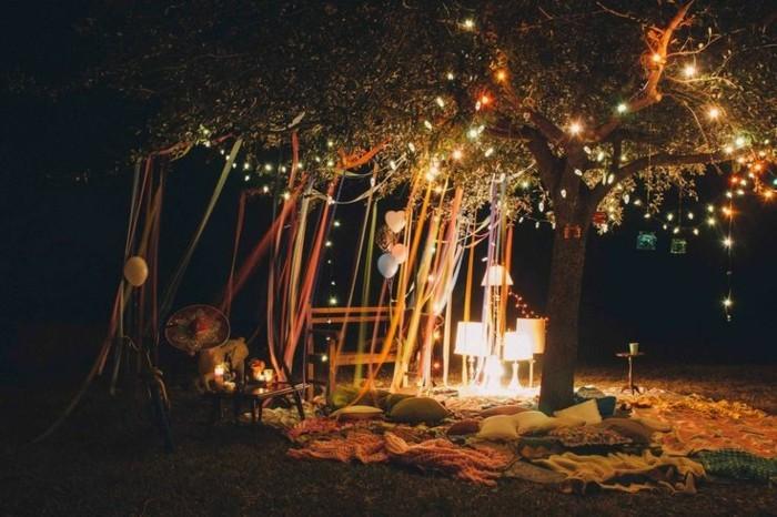 adorable-anniversaire-décoration-anniversaire-adulte-cool-jardin-feter