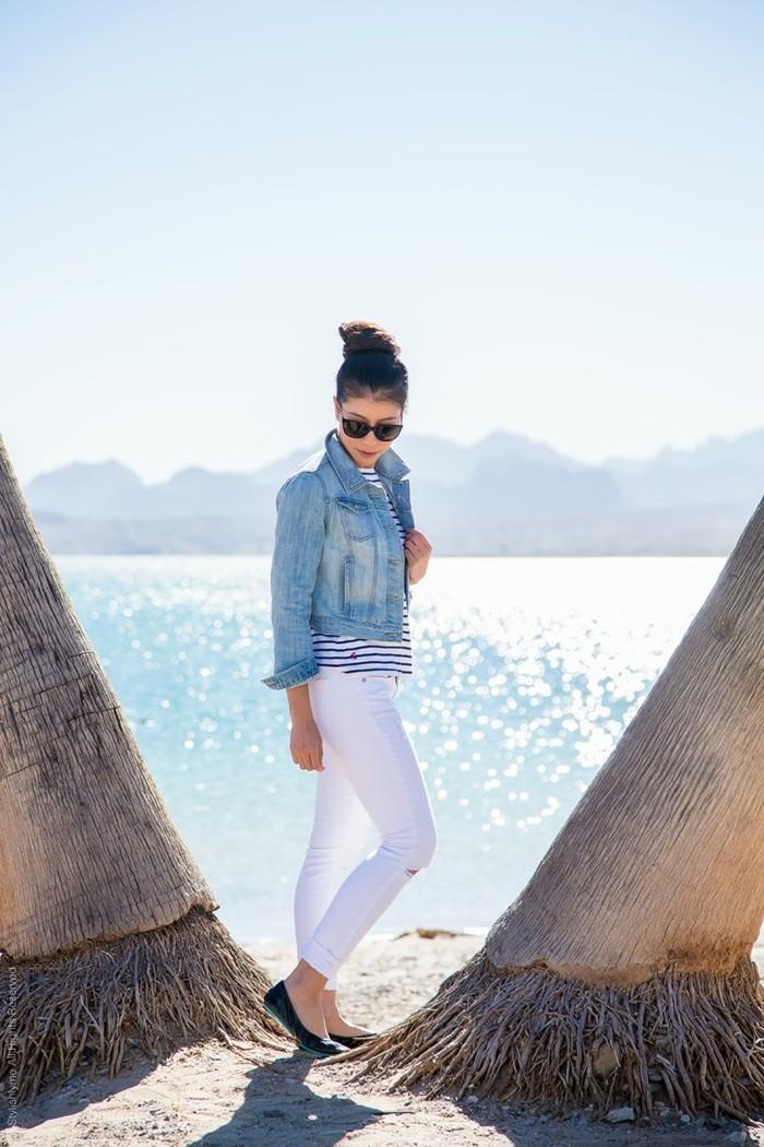 beauté-idée-tenue-belle-idée-jeans-blanc-femme-idée-tenue