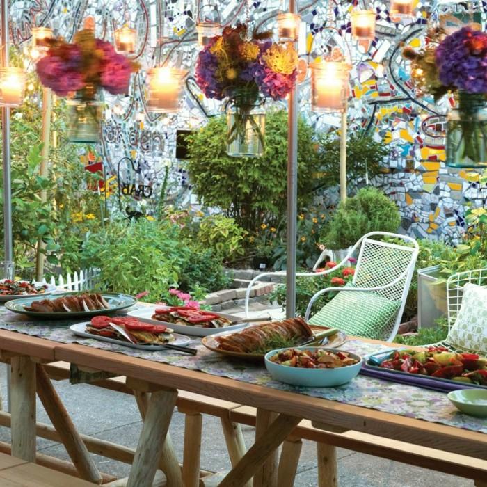 belle-décoration-table-anniversaire-adulte-trop-cool