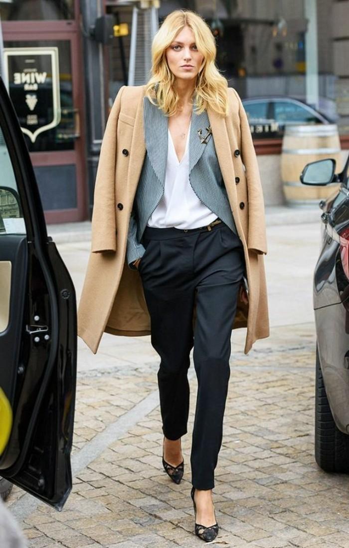 bien-s-habiller-femme-pantalon-elegant-femme-noir-pantalon-pincé-noir