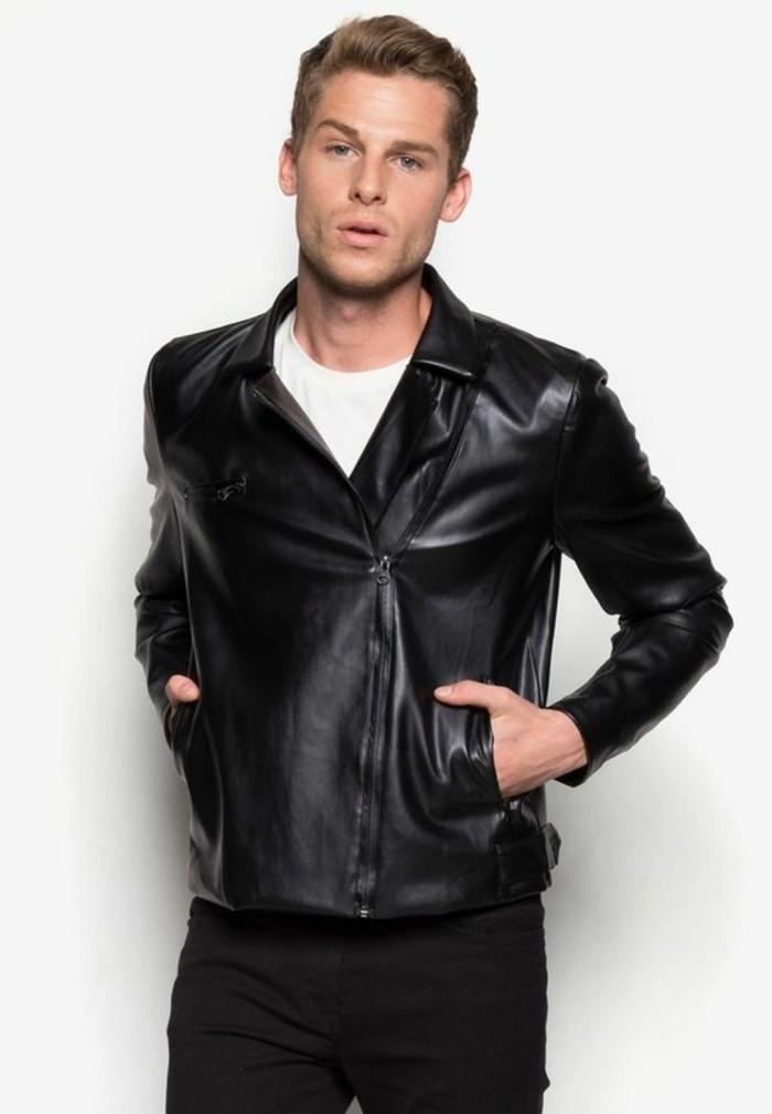 blouson-cuir-homme-redskins-noir-t-shirt-blanc-homme-tendances-de-la-mode-homme