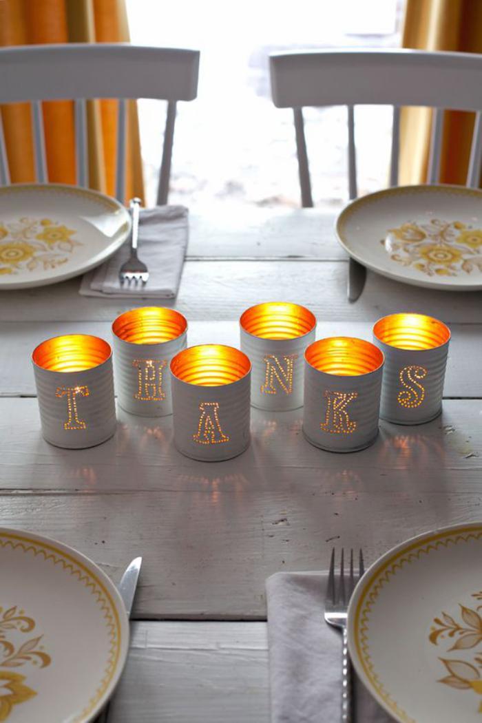 Questcequon Peut Faire Avec Une Boite De Conserve La Réponse - Table 60 x 80 pour idees de deco de cuisine