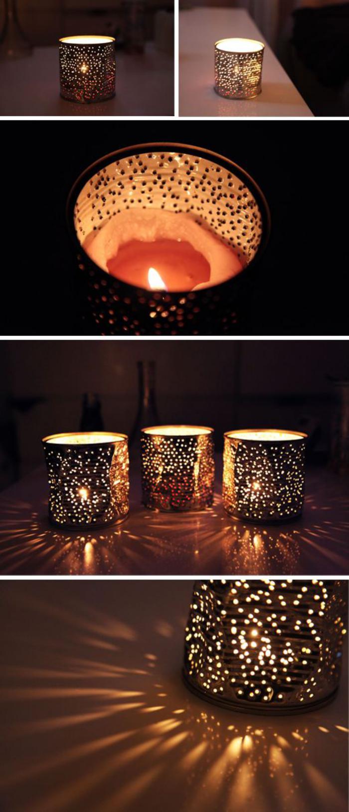 boîte-de-conserve-lanternes-en-boites-trouées