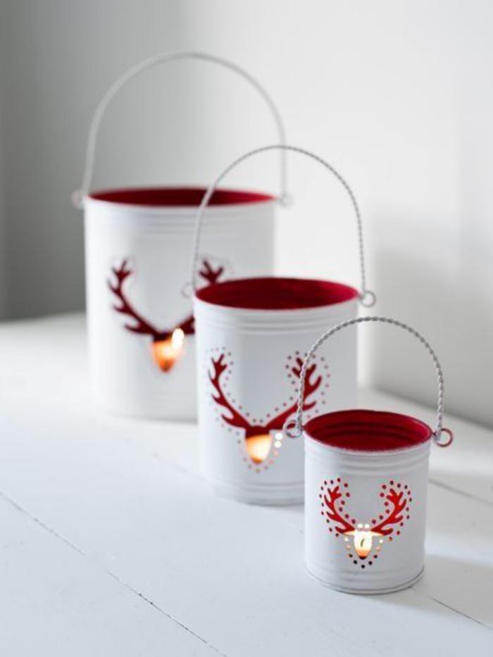Boite De Conserve Decorer Pour Lampe