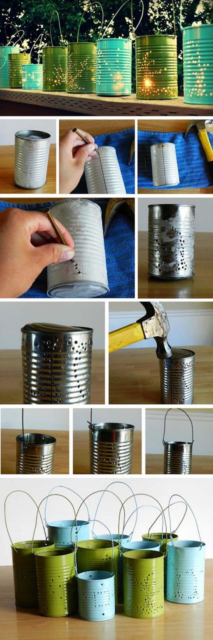 Comment Décorer Des Boites De Conserve qu-est-ce-qu'on peut faire avec une boite de conserve - la