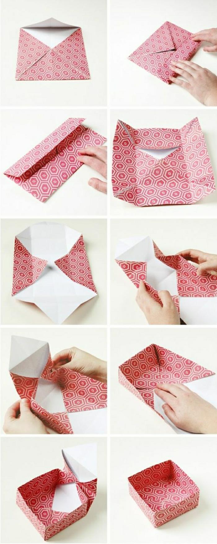 Comment faire un origami 55 id es en photos et vid os - Pliage origami simple ...