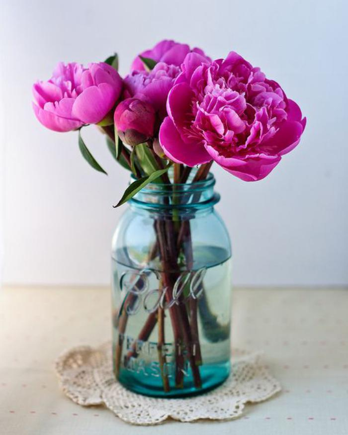 bouquet-de-pivoines-décoration-simple-et-belle