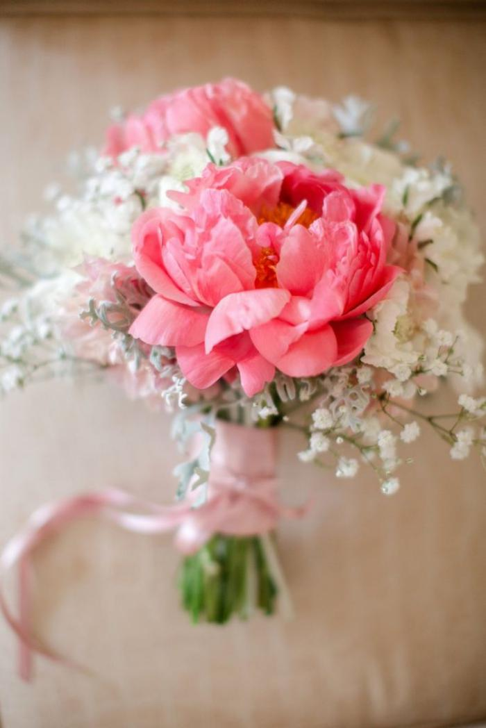 Le bouquet de pivoines en 48 photos magnifiques for Bouquet de fleurs photo