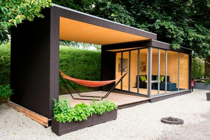 le cabanon de jardin en 46 photos choisir son style pr f r. Black Bedroom Furniture Sets. Home Design Ideas