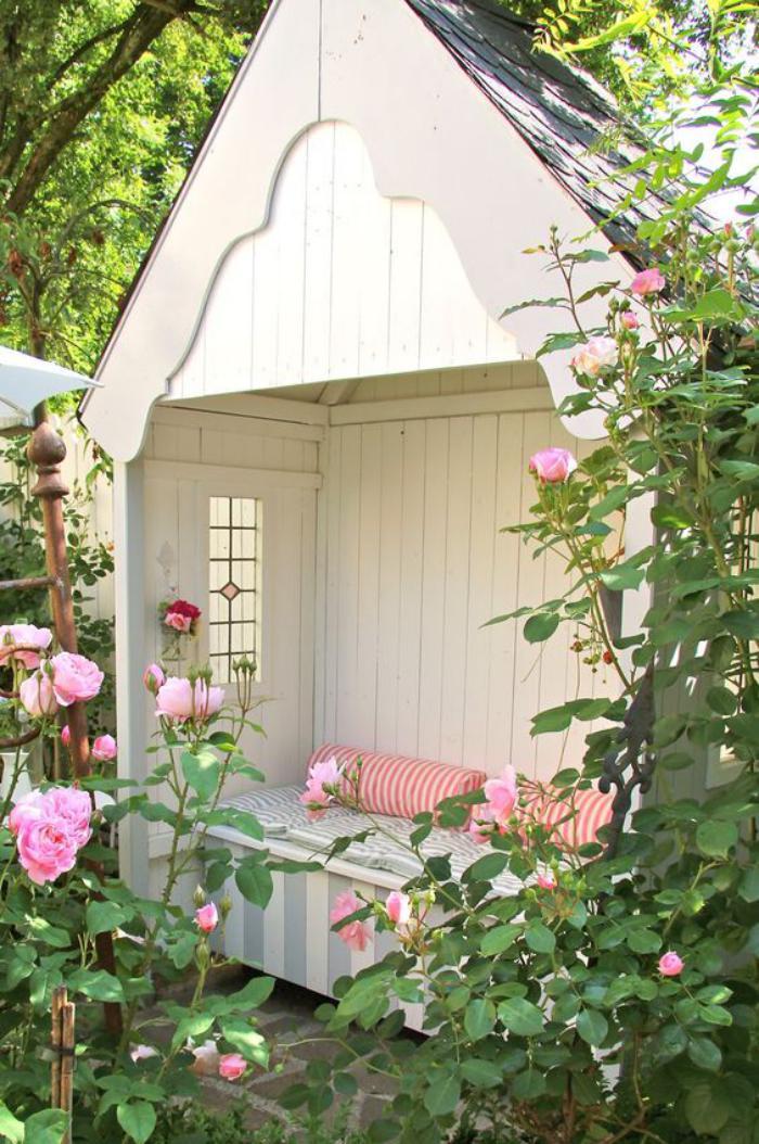 De Jardin Original : cabanon-de-jardin-cabane-blanche-abri-de-jardin ...