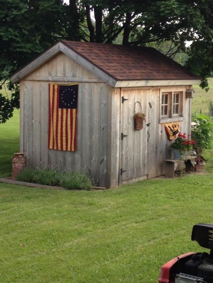 cabanon-de-jardin-drapeau-américain
