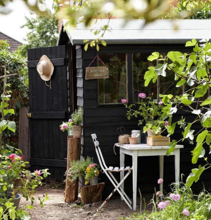 Le cabanon de jardin en 46 photos choisir son style pr f r - Abri de jardin montage ...