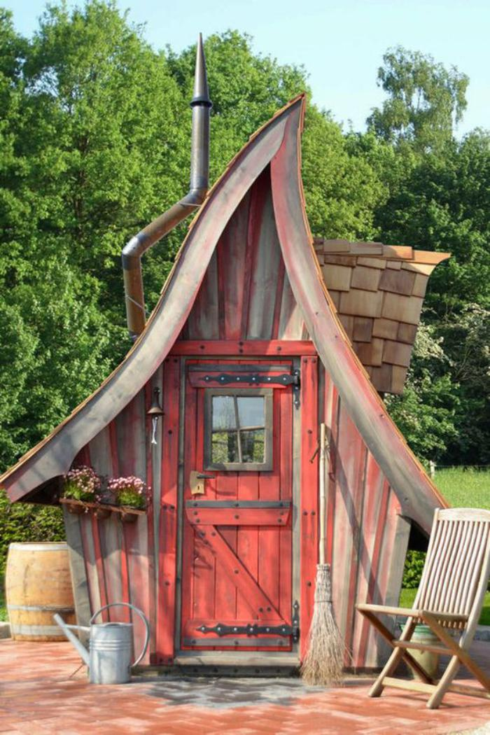 Le cabanon de jardin en 46 photos choisir son style for Photo de jardin de maison