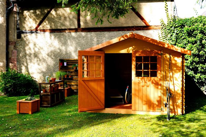 Le cabanon de jardin en 46 photos choisir son style for Cabanon de jardin 12m2